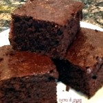 Cocoa brownies – brownies al cacao