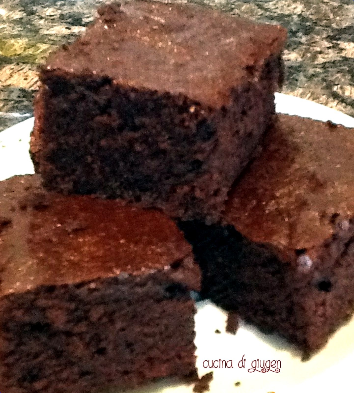 Cocoa brownies - brownies al cacao