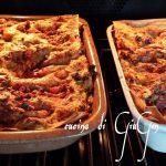 Lasagne con carne al forno